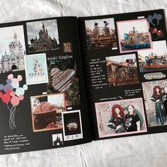 finally finished my disney world scrapbook so have some of my favourite pages . finally finished my disney world scrapbook so have some of my favourite pages . Scrapbook Da Disney, Travel Scrapbook, Photo Album Scrapbooking, Scrapbook Albums, Scrapbook Photos, Couple Scrapbook, Scrapbooking Ideas, Diy Gifts For Boyfriend, Scrapbook Journal
