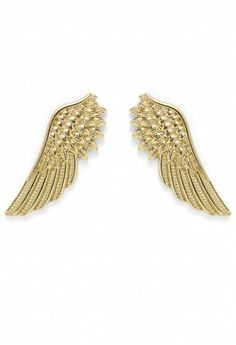 Angel Wings Shape Collar Studs