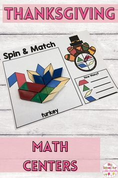 Engage your students with this Thanksgiving shape mats! These hidden picture math shape mats are a great way for students practice shape recognition and shape matching. These math shape games are perfect for independent math centers, or small group math instruction. Ideal for PreK, Kindergarten, and First grade! #math #thanksgiving