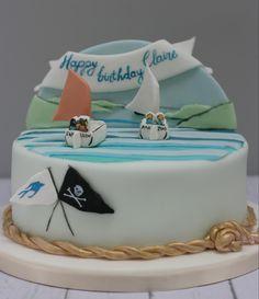 Swallows & Amazons Themed Birthday Cake