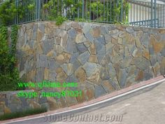 Rusty Irregular Slate Tile/Natural Slate Wall, Random Stone Tiles