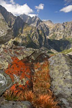 Slovakia - Igor Supuka 118 - Europe, Slovak republic, High Tatras National Park, Svišťová valey with Rysy peak