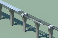 【スライドショー】夢の高速輸送機「ハイパーループ」 - WSJ.com
