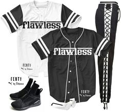 Flawless Baseball Jersey. Get it at www.doyou247.com. Basketball Jersey Outfit, Baseball Outfits, Baseball Jerseys, Boujee Outfits, Sporty Outfits, Teen Fashion Outfits, Trendy Outfits, Cute Outfits For School, Cute Summer Outfits