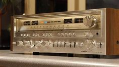 Pioneer SX-1280 (1978-1980) . Power output: 185 watts per channel into 8Ω (stereo) Vintage Audio Love