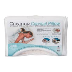 Cradling Comfort Elite Traditional Memory Foam Pillow : Traditional, Donuts and Memories on Pinterest