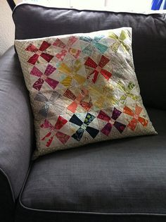 Patchwork Please pp pin cushion pattern multiplied