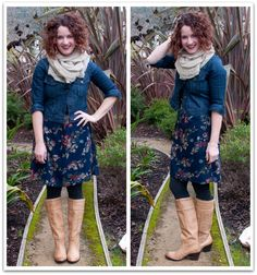 @Lisa Leonard is my favorite. I love her style and I love this cute outfit.