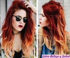 coloración del cabello,