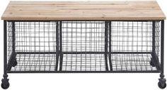 Hopper Storage Bench - Kitchen Carts - Kitchen & Dining Room - Furniture - Storage Carts - Storage & Organization | HomeDecorators.com