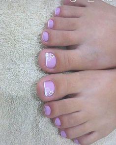 26 Ideias de Unhas Decoradas dos Pés Manicure E Pedicure, Women's Feet, Nails, Pretty Pedicures, Nail Ideas, Conch Fritters, Women, Pedicures, Feet Nails