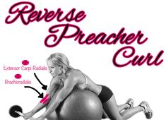 Fitness Tip Tuesday – Reverse Preacher Curl for Muscle Building - Fitness For Women by Flavia Del Monte