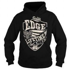 Team EDGE Lifetime Member Eagle T Shirts, Hoodies, Sweatshirts. CHECK PRICE ==► https://www.sunfrog.com/Names/Last-Name-Surname-Tshirts--Team-EDGE-Lifetime-Member-Eagle-Black-Hoodie.html?41382