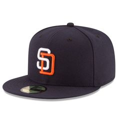 San Diego Padres New Era Turn Back the Clock 59FIFTY Fitted Hat - Navy 2546a7e34638