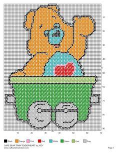 Care Bear Train Set 13