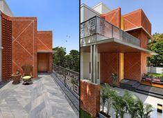 45° Brick House | A+T Associates