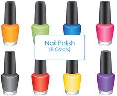 Nail Polish Clip Art - PNG