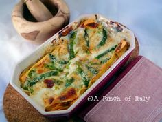 Lasagne agli Asparagi Light
