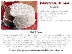 Receita de Buttercream de Coco #SenhoraInspiracao