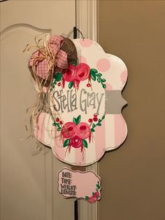 Birth Announcement Announce Pregnancy Hospital Door Baby, Hospital Door Wreaths, Hospital Door Hangers, Baby Door Hangers, Burlap Door Hangers, Birth Announcement Sign, Birth Announcements, Baby Lane, Baby Name Signs