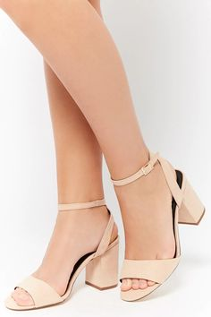 1947ee72fa Faux Suede Open Toe Sandals | Forever21 Cute Heels, Shoes Heels, Forever 21  Shoes
