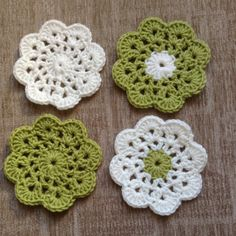 Crocheted Flower Coasters £6.00