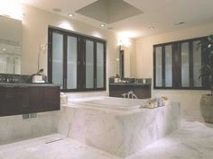 15 Marvelous Spa Bathrooms That Offer Real Enjoyment - Bathrooms - Bathroom Decor Spa Bathroom Design, Spa Bathroom Decor, Spa Design, Bathroom Faucets, Modern Bathroom, Small Bathroom, Spa Bathrooms, Bathroom Ideas, Design Ideas