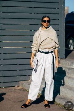 Paris SS 2019 Street Style: Julie Pelipas - Street Fashion Trends and Beauty Tips Street Looks, Look Street Style, Street Chic, Street Styles, Paris Street, Spring Street Style, Fashion Week, Spring Fashion, Winter Fashion