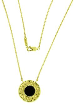 www.jewelrybydavid.com Carrera y Carrera reversible mother of pearl & onyx necklace in 18k gold. Link to the item https://www.jewelrybydavid.com/collections/carrera-y-carrera/products/carrera-y-carrera-reversible-mother-of-pearl-onyx-necklace-in-18k-gold