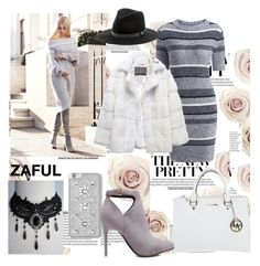 """""""New dress from Zaful #42"""" by infinity-em ❤ liked on Polyvore featuring Michael Kors, Lilly e Violetta, MICHAEL Michael Kors and Sole Society"""