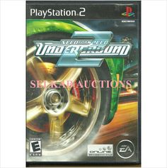 Need for Speed Underground 2 Play Station 2 Video Game disc PS2 NTSC U/C Used