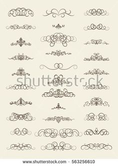 Calligraphy decorative frame with corner vector 02 arts crafts vintage decor elements and wicker lines in vector decoration for logos page wedding album or restaurant menu in set calligraphic design elements junglespirit Image collections