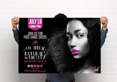Free mini makeovers Saturday, July 18, 2015  pinkpowderparlor.com to book your slot