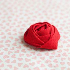 DIY: fabric rose
