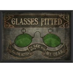 I pinned this Oculist Sign Framed Print in Green from the Artwork Factory event at Joss and Main! Ex Libris, Free Graphics, Eye Art, Vintage Advertisements, Vintage Posters, Framed Prints, Framed Wall, Wall Art, Picture Frames