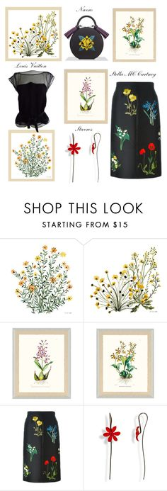 """""""Botanical"""" by glamheartcafe on Polyvore featuring Frontgate, STELLA McCARTNEY and Louis Vuitton"""