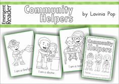 Emergent Reader - Community Helpers. FREE for 24 hours only!