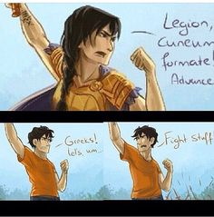 """ -Percy Jackson Blood of Olympus Percy Jackson Books, Percy Jackson Fandom, Solangelo, Percabeth, Saga, Blood Of Olympus, Oncle Rick, Team Leo, Trials Of Apollo"