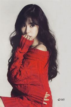 TIffany Hwang Miyoung of #SNSD Girls' Generation for their 2014 Scheduler