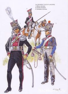 SOLDIERS- Courcelle: NAP- France: 3rd Regiment French Scout-Lancers, by Patrice Courcelle.
