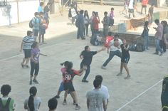 Outdoor Girls team at Annual Sports day - Narsee Monjee College of Commerce and Economics.