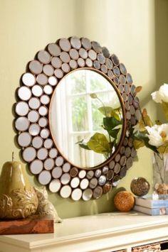 Emily Circles Mirror #kirklands #innovativedesign