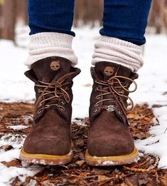 Inspired by natural colors # Timberland - Winter Boots Mode Timberland, Timberland Boots Outfit, Timberlands Women, Timberland Outfits Women, Timberland Winter Boots, Women's Shoes, Cute Shoes, Me Too Shoes, Fashion Shoes