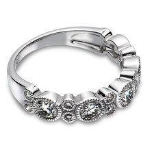 1.0 CTW Diamond Miligrained Band in 14KT White Gold.