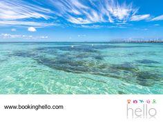 EL MEJOR ALL INCLUSIVE AL CARIBE. Playa Norte ubicada en Isla Mujeres, es uno de los lugares que tienes que visitar con tus amigos cuando viajen a Cancún, para disfrutar de los packs all inclusive de Booking Hello. Este lugar se distingue por ser de aguas tranquilas y poco profundas, permitiéndoles relajarse, disfrutar de su calidez y nadar tranquilamente. #bookinghello