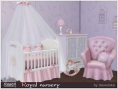 Sims 4 CC's - The Best: Royal Nursery by Severinka