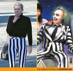 Parecidos razonables: Miley Cyrus y Bitelchus.