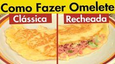 Receita de Omelete Clássica - Tv Churrasco