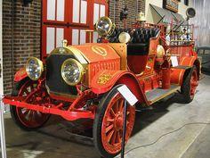 1912 Kissel Kar Chemicle & Hose Fire Truck 01 by Jack_Snell, via Flickr