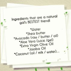 Ingredients that are a natural gal's BESTEST friend! Natural Hair Care Tips, How To Grow Natural Hair, Long Natural Hair, Natural Beauty, Natural Hair Treatments, Hair Addiction, Bestest Friend, Hair Skin Nails, Hair Affair